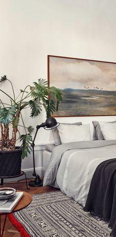 Ideas For A Beautiful Bedroom | cameralink.se/artists/idha-lindhag | design-vox.com