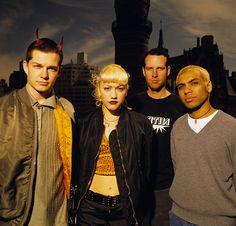 Gwen Stefani, No Doubt. Jiffy Lube