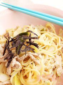 食指大動%Food-Funs: [食譜] 換個新口味「日式柴魚醬油炒義大利麵」之迸出新滋味!