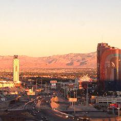 Vegas at sunrise.