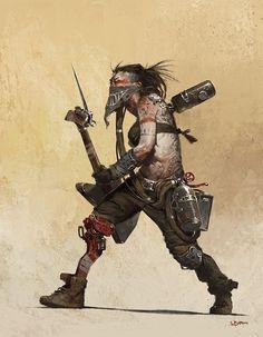This ain't cyberpunk. Rpg Cyberpunk, Cyberpunk Kunst, Character Concept, Character Art, Concept Art, Art Et Illustration, Character Illustration, Steampunk, Apocalypse World