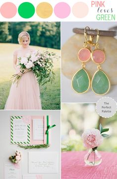 Color Story | Pink Loves Green!
