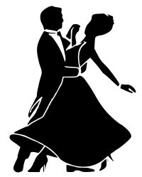 A ballroom dancing couple. Illustration by David Göthberg & Co, Sweden. Some non-Wikipedian friends at my dance club helped me with this image long ago, during my dance web master days. Released by David & Co as public domain. Swing Dancing, Ballroom Dancing, Dancing In The Rain, Dancing Couple Silhouette, Dance Silhouette, Danse Latino, Couple Shadow, Lindy Hop, Couple Drawings