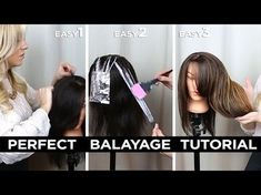 DIY Step by Step Perfect At Home Balayage Tutorial + HUGE GIVEAWAY! - YouTube