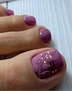 Pedicure Nail Designs, Pedicure Nails, Pedicures, Pretty Toe Nails, Pretty Toes, Nail Art Pieds, Paradise Nails, Cute Toes, Toe Nail Designs