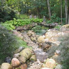 dry riverbed landscaping | Landscaping A Dry River Bed Design, Pictures, Remodel, Decor and Ideas