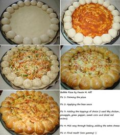 Pizza Recipes, Chicken Recipes, Ramzan Special Recipes, Bubble Pizza, Ramadan Recipes, Ramadan Food, Chocolate Cookie Recipes, Appetisers, What To Cook