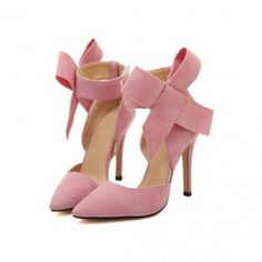 How about this shoe?  Share to get a coupon for all on FSJ Bow Stiletto Heel - Pencil heels Pointed toe Cute - Adorable Chole Pink Dorsay Pumps for Wedding/ Big day