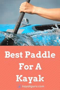 Kayak Accessories Diy Best Paddles For A Kayak - How to choose a paddle, types of kayak paddles, shafts, blades and materials.all discussed in this full guide! Kayak Fishing Tips, Kayaking Tips, Kayak Camping, Whitewater Kayaking, Canoeing, Kids Kayak, Fishing 101, Camping Hammock, Camping List