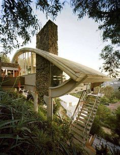 Garcia House Hollywood by John Lautner