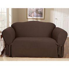 Cotton Duck Sofa Cover