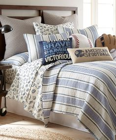 This Josh Quilt Set by Levtex Home is perfect! #zulilyfinds