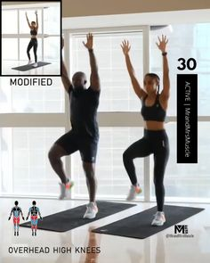 Fitness Workouts, Hiit Workout Videos, Full Body Hiit Workout, Hiit Workout At Home, Gym Workout For Beginners, Gym Workout Tips, Fitness Workout For Women, Weight Loss Workout Plan, Weight Loss Tips