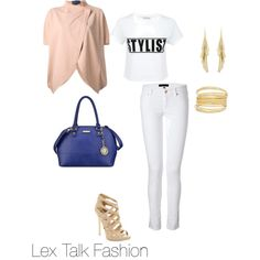 """""""OOTD: The Neutral"""" by lextalkfashion on Polyvore"""