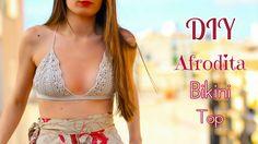 DIY Afrodita Crochet Bikini Top tutorial with written instructions!