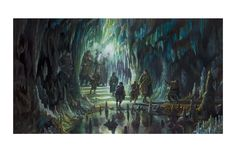 The Fellowship of the Ring in Moria  - Donato Giancola -Limited Edition Giclees