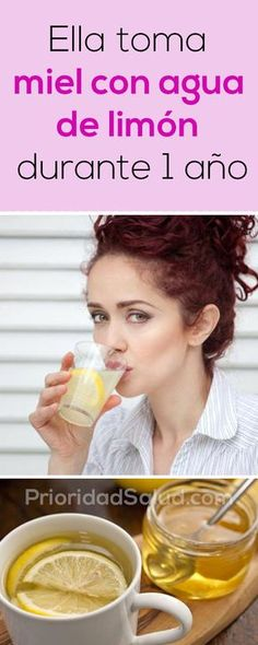 Crystal Davis from the US became a worldwide hit after she shared an experience with warm lemon water. She decided to consume lemon water and honey every morning for a year. After that year, she wa… Home Remedies, Natural Remedies, Vicks Vaporub Uses, Warm Lemon Water, Salud Natural, Cool Eyes, Health And Beauty, Healthy Life, Health Fitness