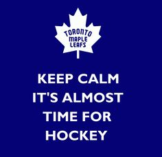 KEEP CALM, hockey is almost here! Hockey Live, All About Canada, Toronto Maple Leafs, Montreal Canadiens, Keep Calm, Nhl, Cave, Boards, Logo