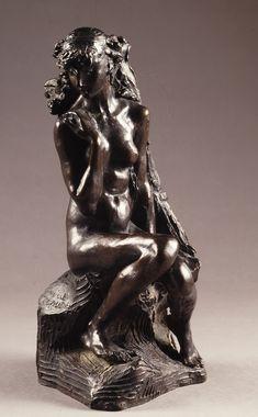 Camille Claudel, La Jeune fille à la Gerbe, 1887, (bronze)