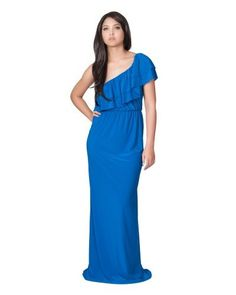 Koh Koh Womens One Shoulder Long layered Cocktail Evening Elegant Maxi Dress - Small - Cobalt Blue Koh Koh,http://www.amazon.com/dp/B00B89J04O/ref=cm_sw_r_pi_dp_H7Czrb557ECA4FAC