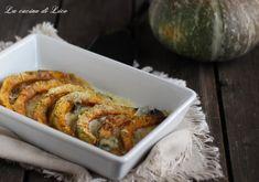 Zucca al forno con gorgonzola
