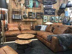 Orvieto Brown Interior, Interior And Exterior, Sofas, Warehouse Apartment, Colorado, Yoyogi Park, Brooklyn Style, Loft House, Surf Style
