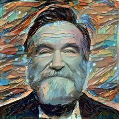 Robin Williams, AI (Dreamscope), 1011x1011