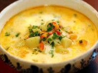 Ingrediente 2 morcovi potriviți 2 cartofi albi potriviți 2 roșii (1/2 cutie roșii în suc propriu) 1 ceapă mare 1 țelină potrivită 1 pătrunjel rădăcină 1 păstârnac 1 ardei gras 1 fir de praz fasole …