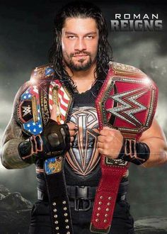 Roman Reigns future WWE US Champion & Universal Champion Wwe Roman Reigns, Wwe Superstar Roman Reigns, Wwe Reigns, Wwe Superstars, Wwe Raw And Smackdown, Roman Reigns Dean Ambrose, Roman Regins, Wwe Belts, The Shield Wwe
