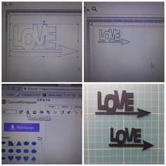 Die Cut, Scan N Cut, Svg File, Brother, Silhouette Projects, Emboss, Drawers, Letters