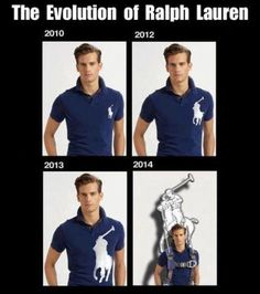 The Evolution of Ralph Lauren / The rise of the Logo