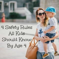 4 safety rules all kids should know before age 4 4 Safety Rules All 4 Year Olds Should Know - Beauty Through Imperfection Parenting Styles, Parenting Advice, Kids And Parenting, Parenting Classes, Single Parenting, Parenting Quotes, Safety Rules For Kids, Child Safety, Teaching Safety