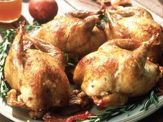 Grilled Cornish Hens with Lemon and Rosemary | Recipe | Cornish Hens ...