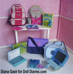 Throwback Thursday – Retired American Girl School Accessories