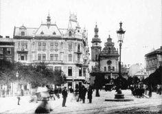 Lwów - plac Halicki