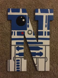 Star Wars Crafts Discover Items similar to Star Wars Custom painted Letter on Etsy Painting Wooden Letters, Painted Letters, Wood Letters, Star Wars Bedroom, Star Wars Nursery, Star Wars Crafts, Star Wars Decor, Decoracion Star Wars, Star Wars Classroom
