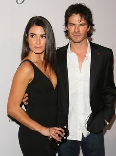 Nikki Reed and Ian Somerhalder at The Humane Society of the United States to the Rescue Gala