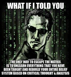 Working Parents & over here. [Psst] [Dollar Value][Proof] [Matrix rethink w/ critical thinking] Spiritual Wisdom, Spiritual Awakening, Matrix Quotes, The Matrix Movie, Fiat Money, Psychology Facts, Thought Provoking, Deep Thoughts, Life Quotes