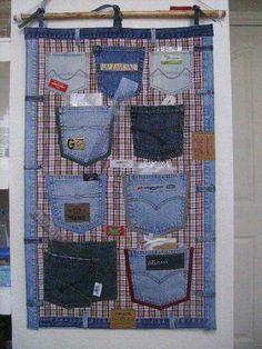 Organização com Jeans