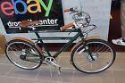 2016 Faraday Porteur Electric Bicycle Green Medium