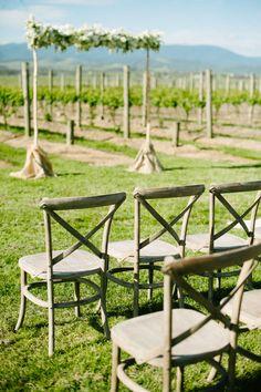 Bright Winery Wedding   Polka Dot Bride