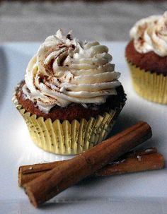 Chai Tea Latte Cupcakes by kellylovescupcakes, via Flickr