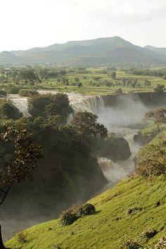 Ethiopia. Blue Nile Falls, Amhara.  Flickr