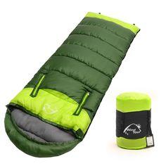 Wearable Sleeping Bag Adult Camping Winter Outdoor Walking Cotton Waterproof Zip
