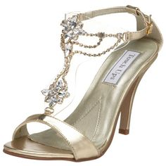 $59.54-$64.00 190MO-09.5-M Color: Gold, Size: 9.5 Available in Multiple Colors!  Princess Sandal by Touch Ups You'll feel like true royalty in the Princess sandal from Touch Ups. This style will be great for dress wear. Features: -Princess in Bronze. -Part of the Princess collection. -Glimmering metallic upper material. -Man-made sole. -Sling back heel strap with adjustable buckle closure. -Eye-ca ...