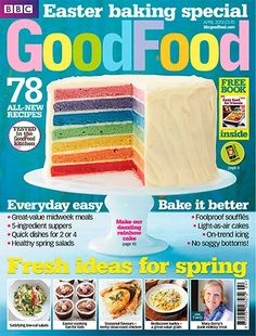 BBC Good Food Magazine, April 2013: Easter Baking Special (searchable index of recipes)