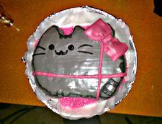 #pusheen #cake #homemade