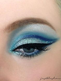 This could be adapted to any team color scheme for awesome competition make up. by jaclyn