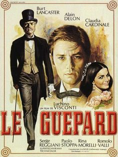 Poster for the film 'The Leopard' by Luchino Visconti, 1963, French version.