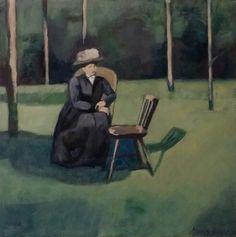 Damen och stolen - Maria Olsson